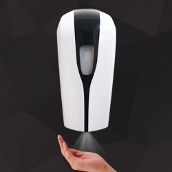 Dispenser automaat t.b.v. spray desinfectie